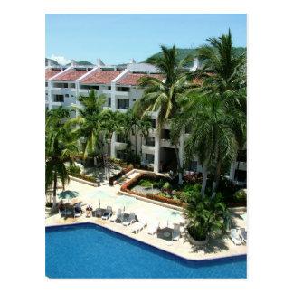 Centro turístico y balneario del palacio de Ixtapa Postales