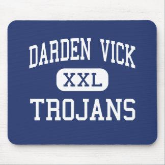 Centro Wilson de los Trojan de Darden Vick Alfombrillas De Ratones