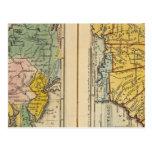 Centro y estados sureños tarjetas postales