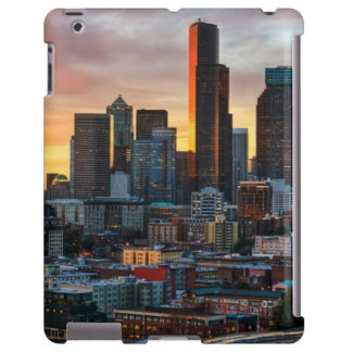 Centro y Seattle céntrica, Seattle de Columbia Funda Para iPad