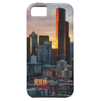 Centro y Seattle céntrica, Seattle de Columbia iPhone 5 Carcasas