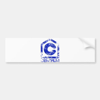 Centrum Bumper Sticker