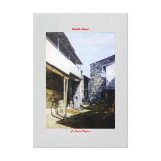 Centulle (Lugo) Lienzo Envuelto Para Galerías
