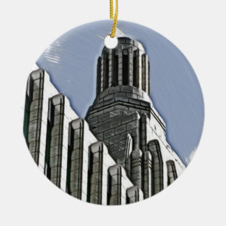Century Building, Melbourne Ceramic Ornament