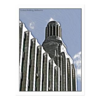 Century Building, Melbourne Post Card