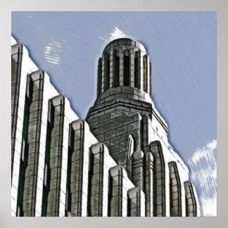 Century Building, Melbourne Poster