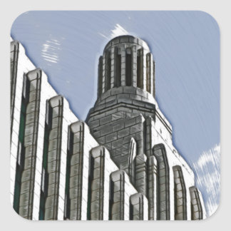 Century Building, Melbourne Square Sticker