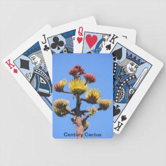 Century Cactus Playing Cards