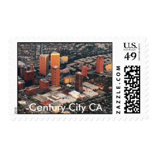 Century City at Sunset  Century City CA Stamps