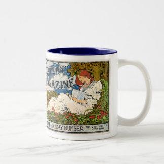 Century Magazine MIdsummer Holiday Number Coffee Mugs
