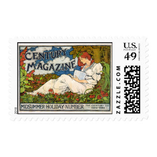 Century Magazine MIdsummer Holiday Number Postage Stamps