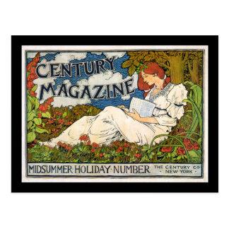 Century Magazine MIdsummer Holiday Number Post Card