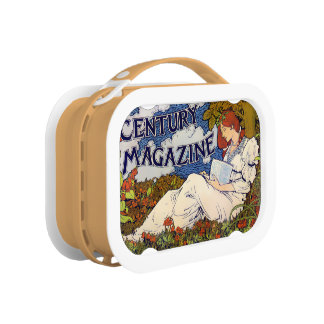 Century Magazine - Orange yubo Lunch Box
