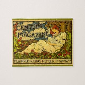 Century Magazine Vintage Louis J. Rhead Jigsaw Puzzle