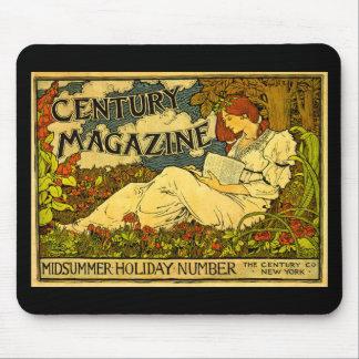 Century Magazine Vintage Louis J. Rhead Mouse Pad
