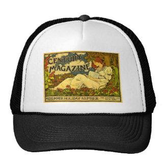 Century Magazine Vintage Louis J. Rhead Trucker Hat