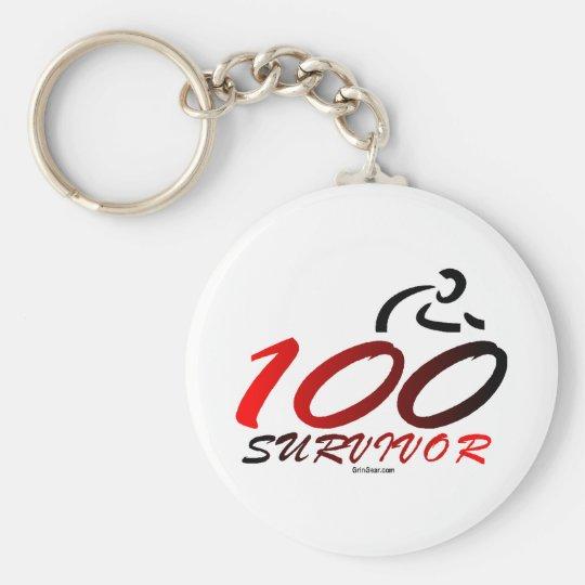 Century Survivor Keychain