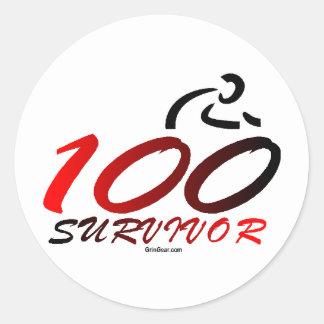 Century Survivor Classic Round Sticker