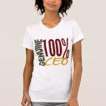 CEO auténtico Camisetas