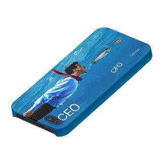CEO CFO C-ya Later Office Humor phone case