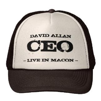 CEO de David Allan Gorras De Camionero