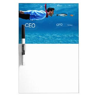 CEO HUMOR dry erase board