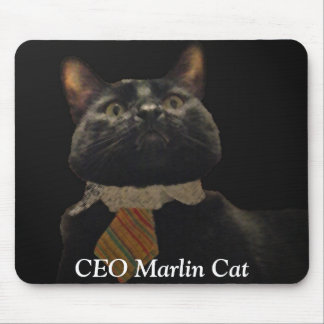 CEO Marlin Cat Mouse Pad