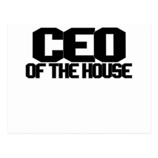 CEO OF THE HOUSE.png Postcard