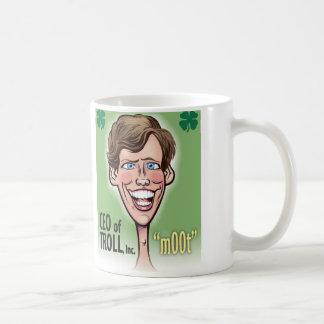 CEO of TROLL 11 oz Classic White Mug