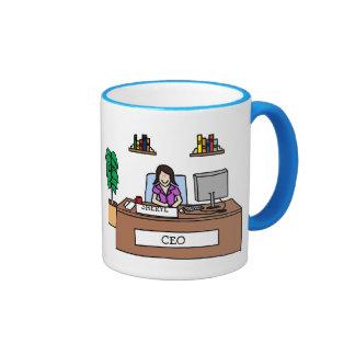 CEO - personalizable Taza De Café