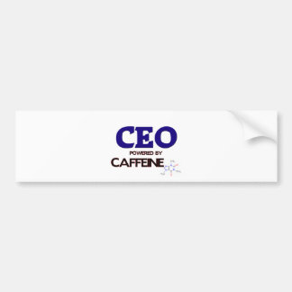 Ceo Powered by caffeine Bumper Stickers