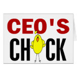 CEO's Chick Cards