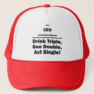 ceo trucker hat