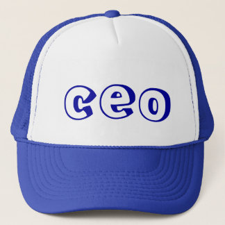 CEO Trucker Hat