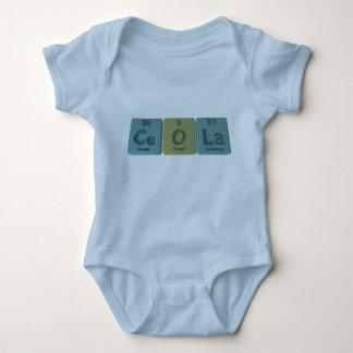 Ceola como lantano del oxígeno del cerio body para bebé