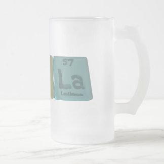 Ceola como lantano del oxígeno del cerio taza de cristal