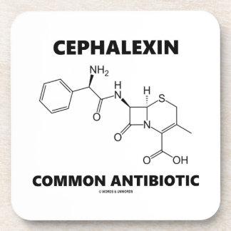 Cephalexin Common Antibiotic (Chemical Molecule) Beverage Coaster