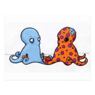 cephalopod <3 postcard