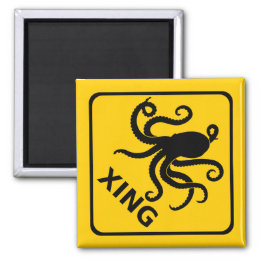 Cephalopod Crossing Magnets