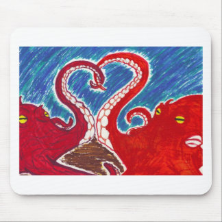 Cephalopod Love Mouse Pad