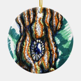 Cephalopod Oceanus Ceramic Ornament