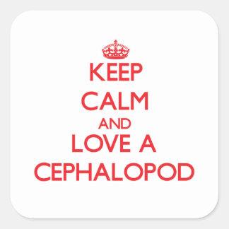 Cephalopod Square Sticker