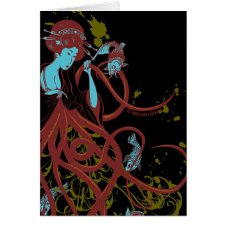 Cephalopod Sushi Card