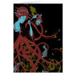 Cephalopod Sushi Greeting Card