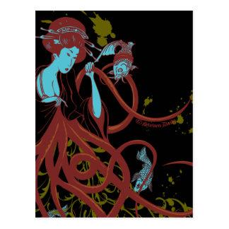 Cephalopod Sushi Postcard
