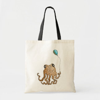 Cephalopod with Balloon Tote Bag