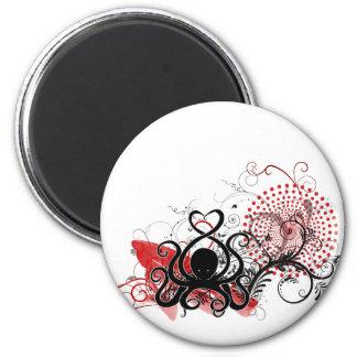 Cephalove Black Fab Magnet