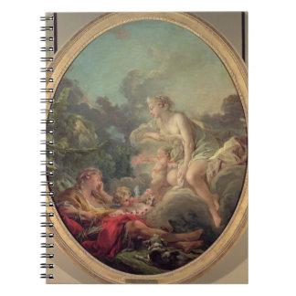 Cephalus y aurora, 1764 (aceite en lona) libreta