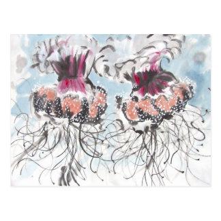 Cephea Jellyfish Detail Postcard