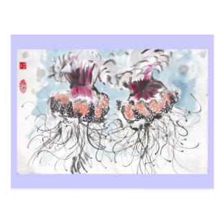 Cephea Jellyfish Postcard